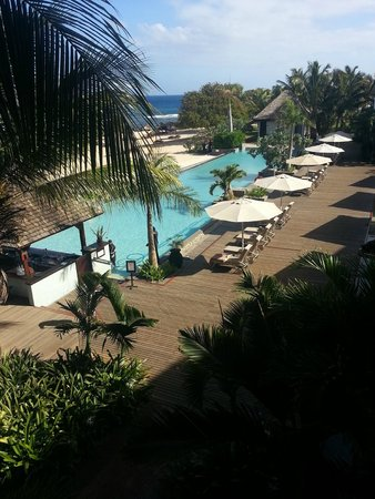 InterContinental Mauritius Resort Balaclava Fort : une des piscine