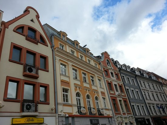 Old City Riga (Vecriga): Площадь в Старой Риге