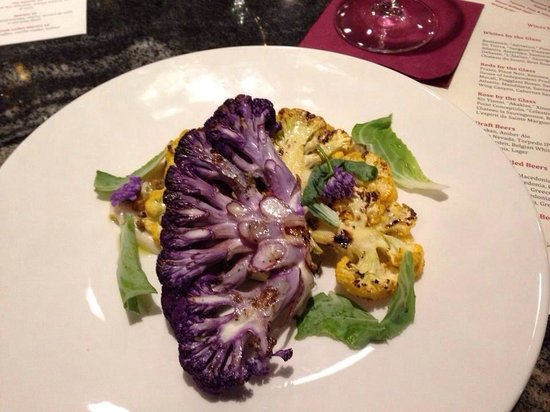 Jimmy's at The Landing Resort & Spa: Wood grilled cauliflower