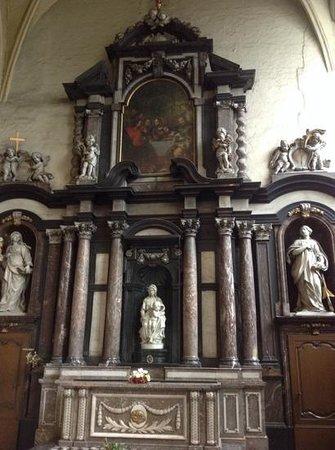 Église Notre-Dame (Onze Lieve Vrouwekerk) : Michaelangelo's Madonna with Child