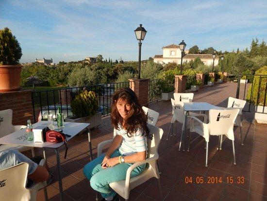 Hotel Abaceria: Bar terraza del hotel