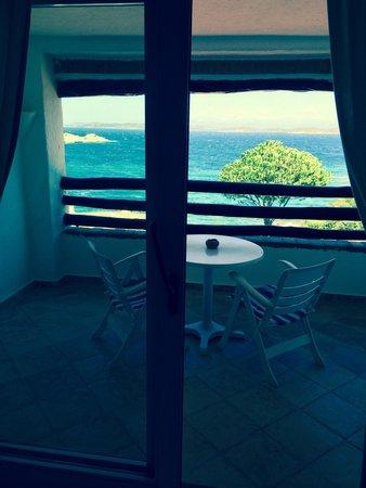 Hotel La Bisaccia : Vista sul mare