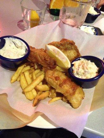 Hard Rock Cafe Malta: Fish n ships
