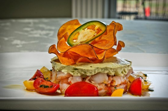 Cameo Heights Mansion Bed & Breakfast: Shrimp ceviche