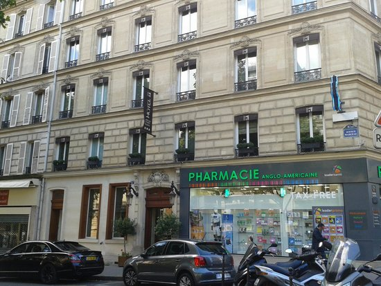 Hotel Marceau Champs Elysees: esterno albergo