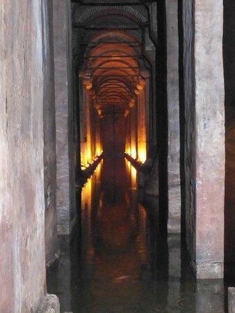 Cisterna Basílica: mooi effect