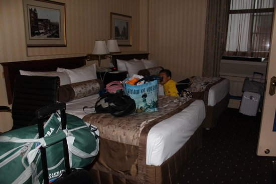 Hotel Whitcomb : 客室
