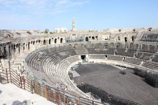 Arènes de Nîmes : Scorcio dagli spalti