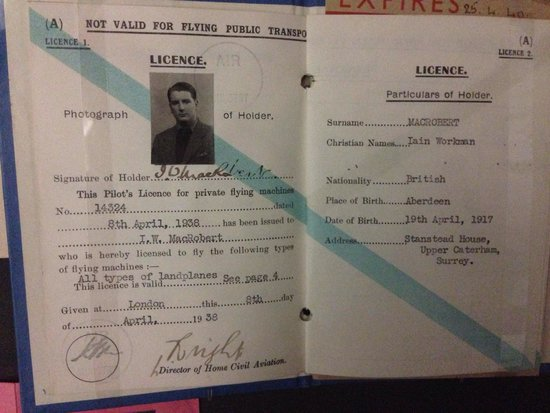 National War Museum of Scotland: Licence