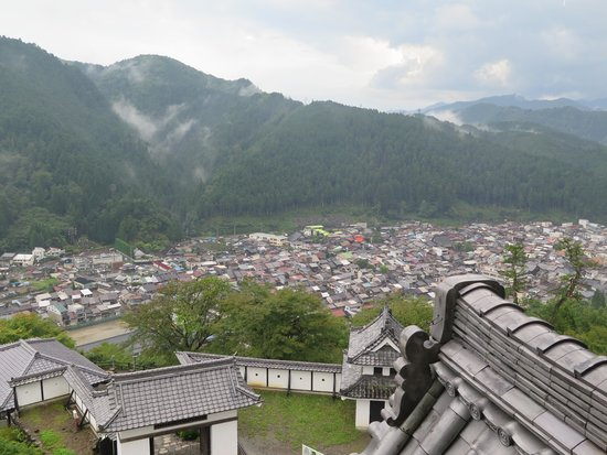 Gujo Hachiman Castle: 天守から