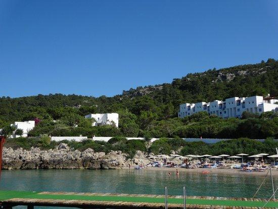 Club Med Kemer: le Village vue de la Mer (vue partielle)