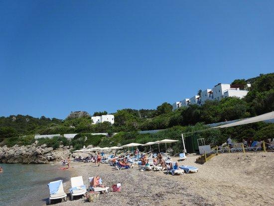 Club Med Kemer : Le Village vu du Bar ( vue partielle)
