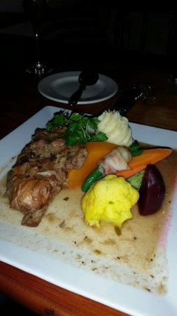 Oude Wellington Restaurant: Rabbit
