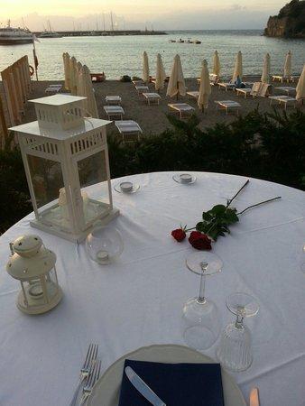 Ristorante Palazzo Dogana: Cena al tramonto