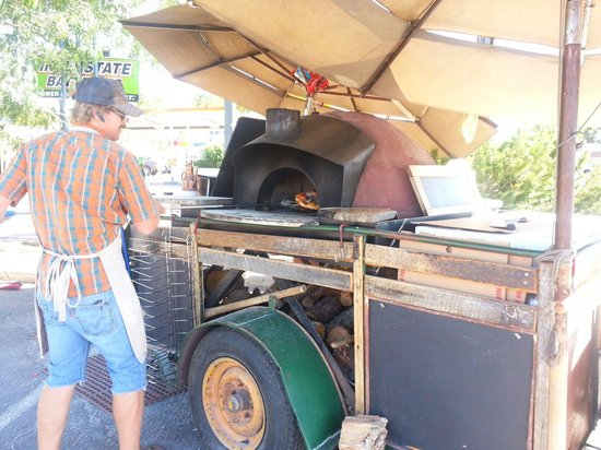 The Pizza Cart: My new favorite way to have pizza...