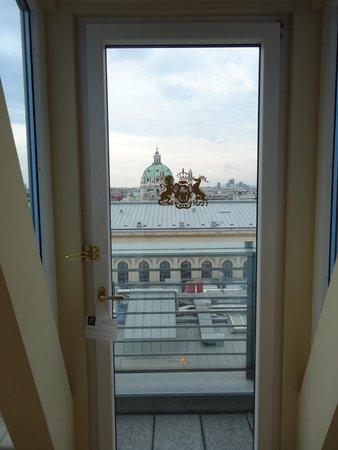 Hotel Imperial Vienna: メゾネットスイート下階からの眺め