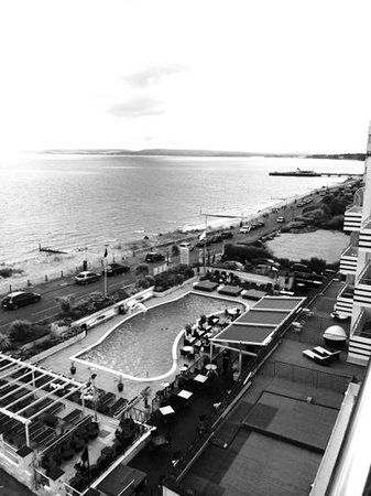 The Suncliff Hotel: view from our balcony!
