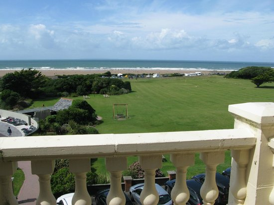 The Woolacombe Bay Hotel: View from our room