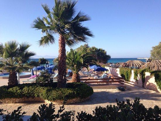 Alykanas Beach Apart-Hotel: View from balcony