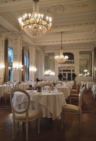 Kempinski Palace Portoroz: Breakfast room (with a great terrace)