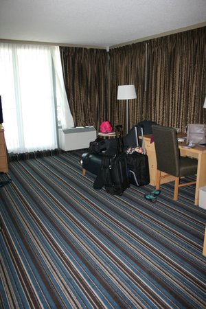 Blue Horizon Hotel: Large room with desk
