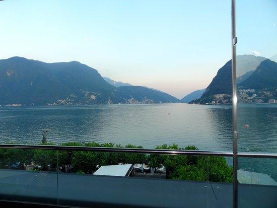 gorgeous view from La Perla terrace