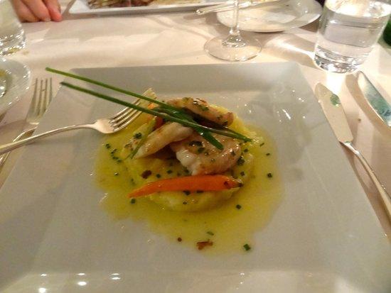 La Perla : monkfish and friends