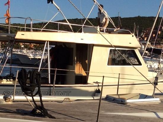 Scuba Point Palau: Max alla guida della barca
