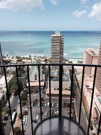 Hilton Waikiki Beach: View from beach view room