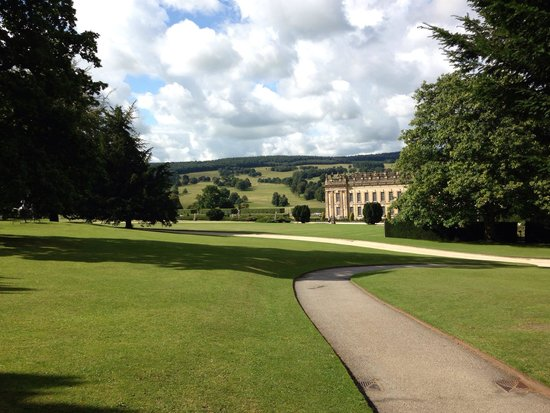 Chatsworth House: Sunny chats worth