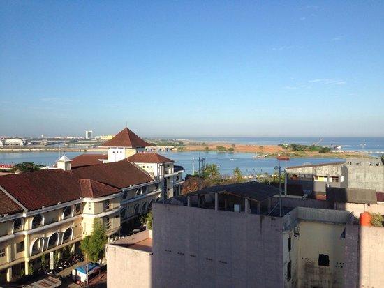 favehotel Daeng Tompo : Pemandangan dari kamar