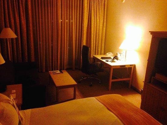 Radisson Hotel Newport Beach : Standing in Corner of Room