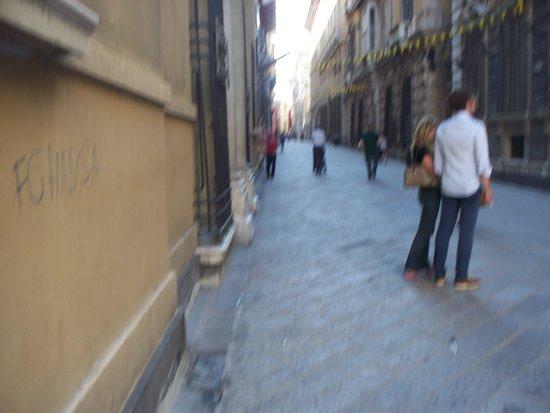 Via Garibaldi: la via