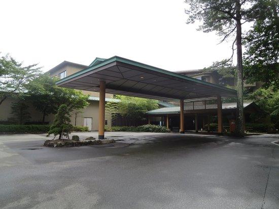 Jodogahama Park Hotel: ホテル入口