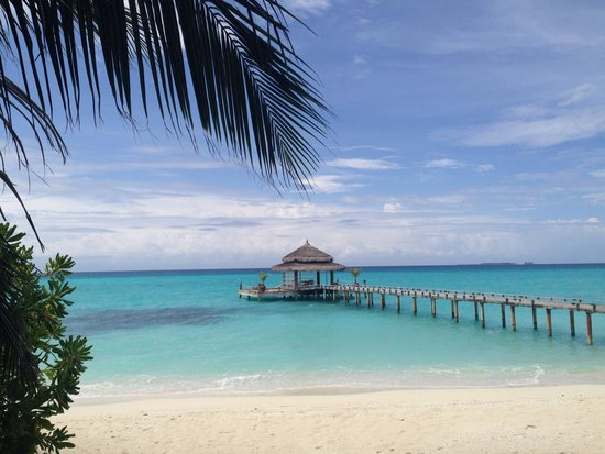 Kuramathi Island Resort: This is not a brochure picture