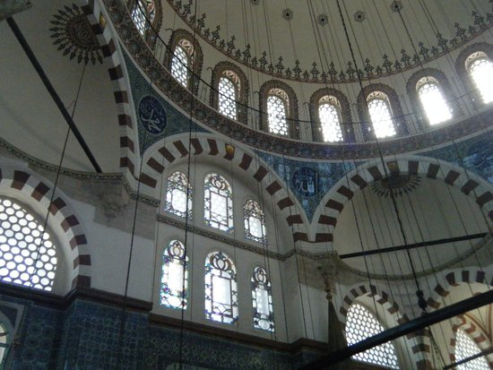 Rustem Pasha Mosque: Up towards the dome