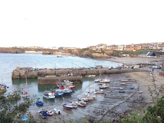 The Boathouse: Porto di Newquay