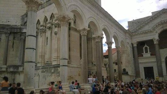Diokletianpalast: Palazzo di Diocleziano