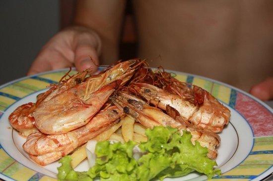 Panchi Villa: Таких вкусных креветок я не ела нигде!!!ни во всей Азии,ни на Карибах!!
