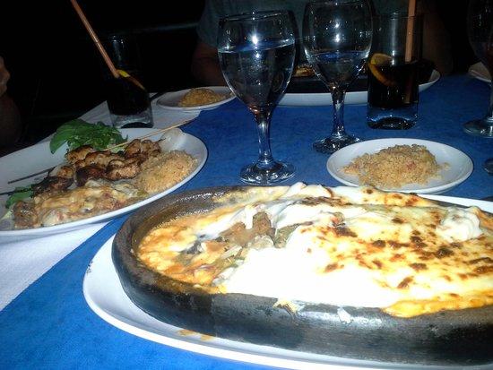 Bodamya Tepe Restaurant: lamb dish