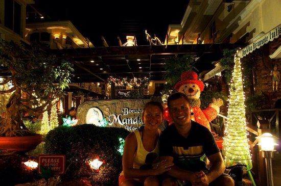 Boracay Mandarin Island Hotel: Новый год;)