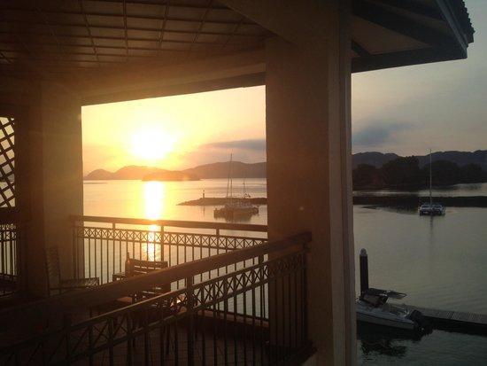 Resorts World Langkawi: Sunrise at resorts world