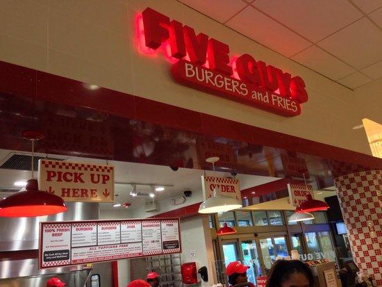 Five Guys: Aventura mall