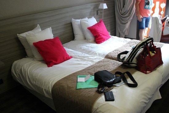 Hotel Club du Soleil Les Bergers : chambre