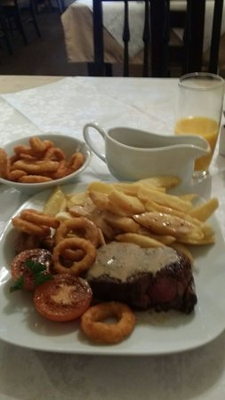 JK's Steakhouse : Had this last night. What a meal! The best steak iv ever had. Lovely service from the staff too.