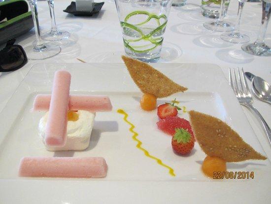 La Clarté : très bon dessert