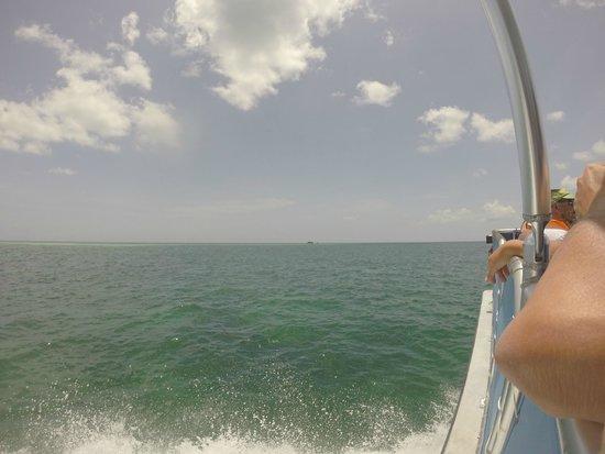 Looe Key (Florida Keys National Marine Sanctuary): en route vers le marine park