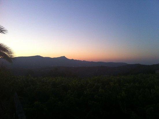 Pendamodi, Greece: Sunset at Villa Irini