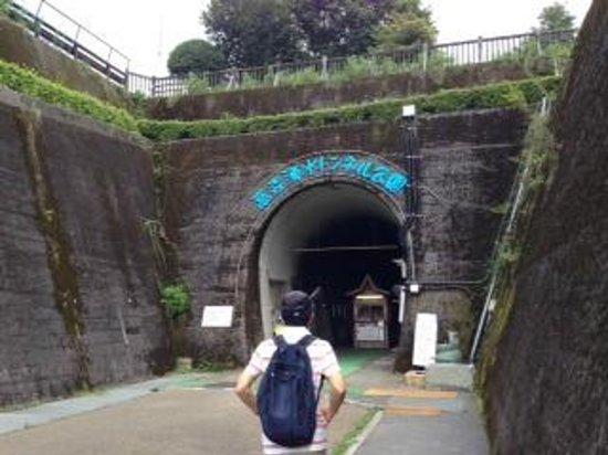 Takamori Yusui Tunnel Park: 入口