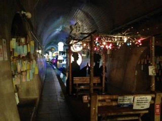 Takamori Yusui Tunnel Park: トンネル内